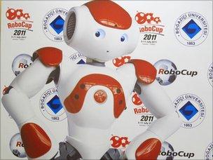 Robo World Cup mascot