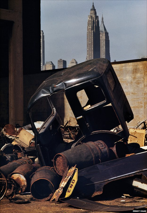 Brooklyn, New York, USA, 1952 by Ernst Haas