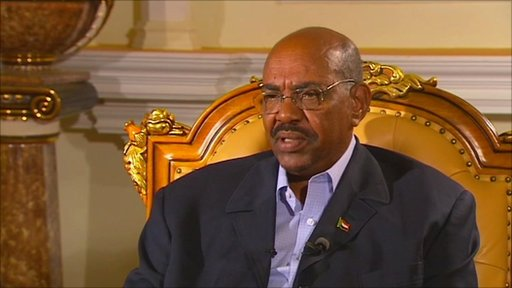 President Omar al-Bashir of Sudan