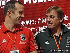 Charlie Adam and Kenny Dalglish