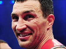 Wladimir Klitschko has questioned Haye's motivation