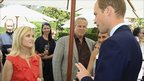 Reese Witherspoon meets the Duke of Cambridge at an event in Los Angeles
