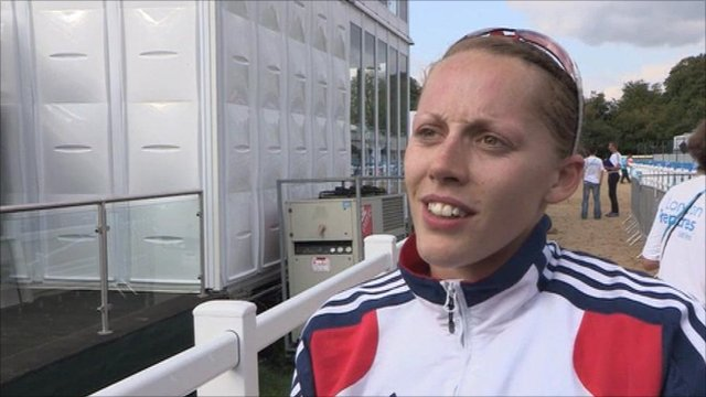Scottish pentathlete Mhairi Spence