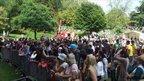 Ipswich Mela 2011 crowd