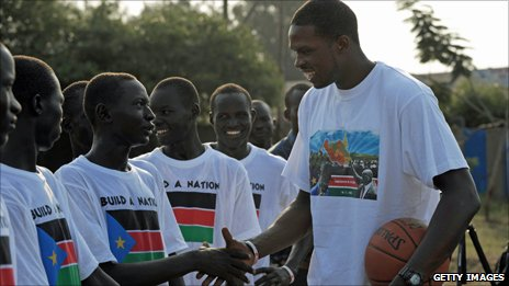 Luol Deng in South Sudan