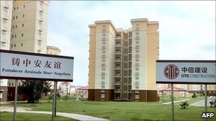 New apartments in Kilamba Kiaxi, 30km south of Luanda, Angola