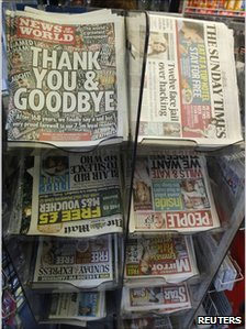 News stand