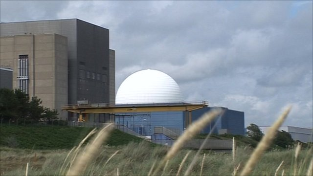 Sizewell B nuclear plant