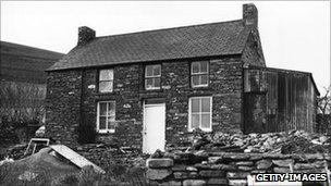 House in west Wales at the centre of the Operation Julie raids