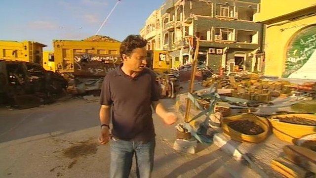 Gabriel Gatehouse in Misrata