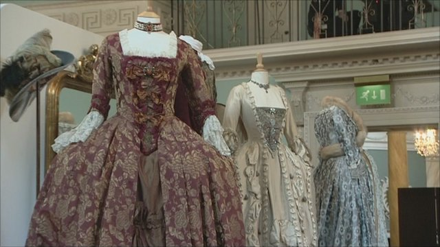 Bath's Fashion Museum period costumes from TV and film