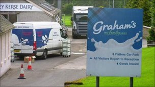 Graham's dairy. Photo by Duncan Kirkhope