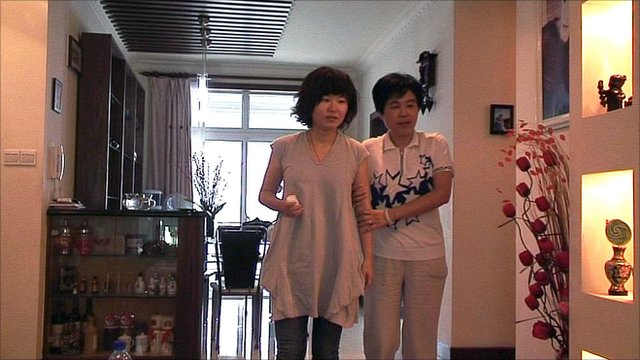 Polly Deng and mother Lu Xiao Dang