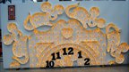 Hickory Dickory Dock nursery rhyme tableau