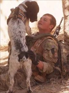 L/Cpl Tasker and Theo