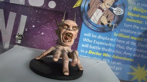 New Doctor Who monster, the Screamer, designed by Jessica