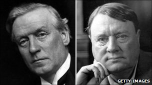 Herbert Asquith and Lord Northcliffe