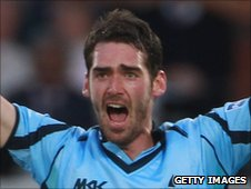 Sussex bowler Chris Liddle