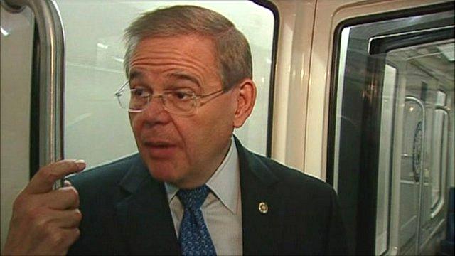 US Senator Robert Menendez