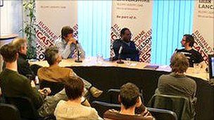 Musicians, promoters and artists meet at BBC Radio Lancashire