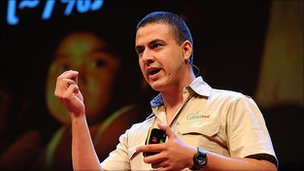 Manuel Aguilar, copyright TED
