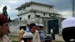 Osama Bin Laden&#039;s compound in Abbottabad