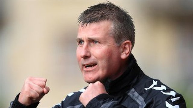 Derry City manager Stephen Kenny