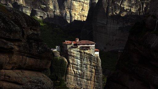 A monastry in Meteora