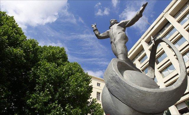 Gagarin statue