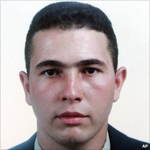 Jean Charles de Menezes is seen in this identification photo from Jan. 29, 2001.