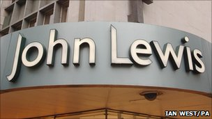 Generic photo of a John Lewis store
