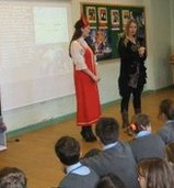 School 108 teacher Anastasia Kuchukbaeva visits Fairlands