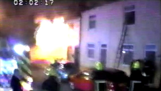 Explosion at Castleford terraced house