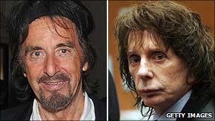 Al Pacino and Phil Spector