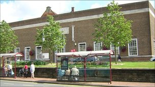 Tunbridge Wells civic complex