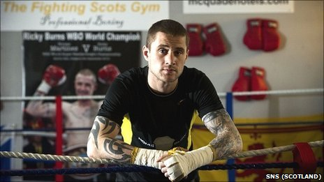 WBO champion Ricky Burns