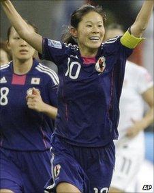 Japan's Homare Sawa