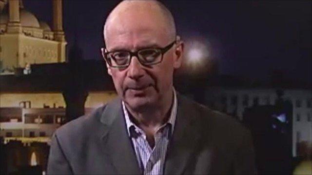 BBC's Jon Leyne