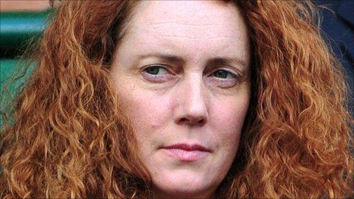 Former Chief Executive of News International Rebekah Brooks
