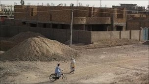 Building site of luxury apartment in Lashkar Gah