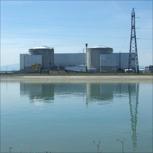 Fessenheim nuclear power station