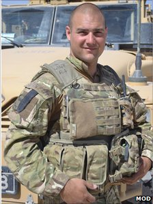 L/Cpl Paul Watkins (Photo copyright: MoD)