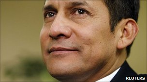 Peruvian President-elect Ollanta Humala (file image)