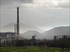 Vedanta aluminium refinery