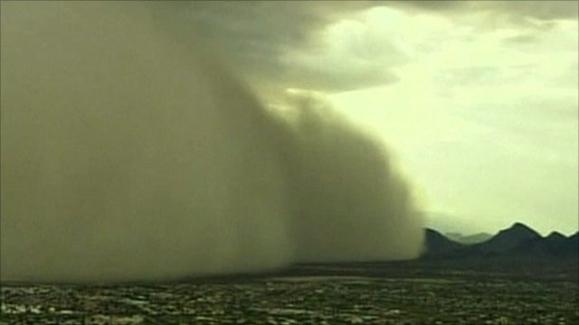 Phoenix dust storm