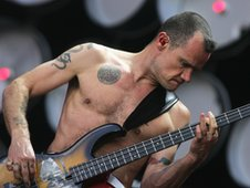 Flea from Red Hot Chili Peppers