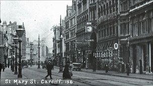 St Mary Street in 1910