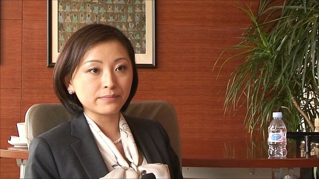 Crystal Ke, a financial advisor