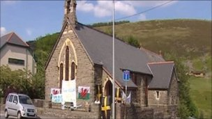 All Saints Church in Maerdy, which has closed