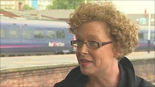 Hull Trains chief executive Cath Bellamy